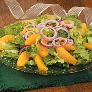 Orange and Red Onion Salad Recipe