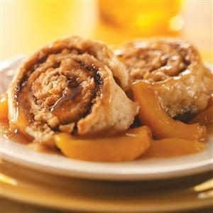 Cinnamon Biscuit Peach Cobbler