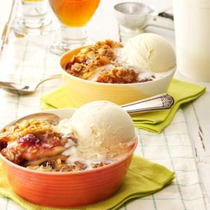 Cranberry-Apple Walnut Crisp Recipe