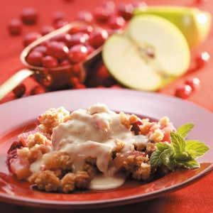 Winning Cran-Apple Crisp Recipe