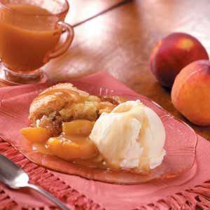 Contest-Winning Peach Cobbler Recipe