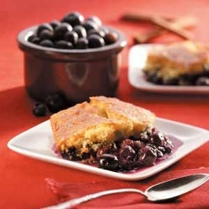 Blueberry Cornmeal Cobbler Recipe