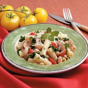 White Beans with Rigatoni Recipe