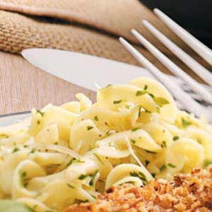 Parmesan Herbed Noodles Recipe