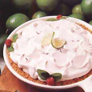 Raspberry Lime Pie Recipe