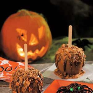 Halloween Caramel Apples Recipe
