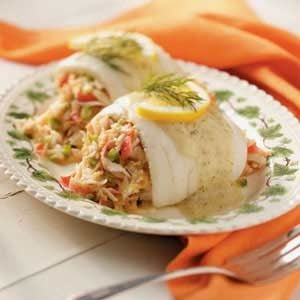 Tangy Crab-Stuffed Sole Recipe