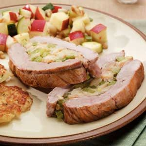 Pork Tenderloin with Stuffing Recipe