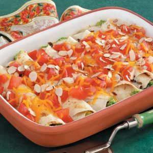 Tuna Broccoli Roll-ups Recipe