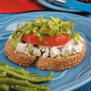 Hot Swiss Chicken Sandwiches Recipe