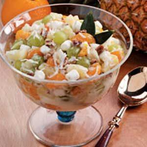Vanilla Yogurt Ambrosia Recipe