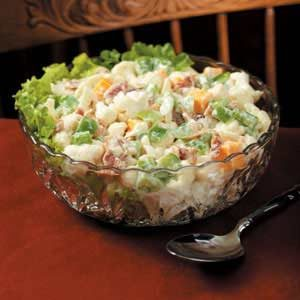 Bacon Cauliflower Salad Recipe