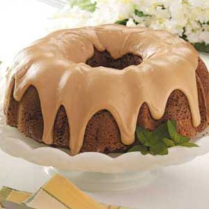 Caramel-Frosted Potato Cake