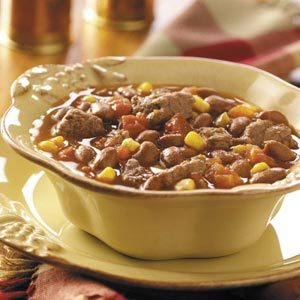Beef 'n' Chili Beans Recipe