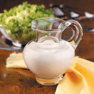 Tangy Buttermilk Salad Dressing Recipe
