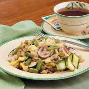 Veggie Rice Saute Recipe