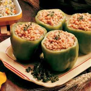 Barley-Stuffed Peppers Recipe