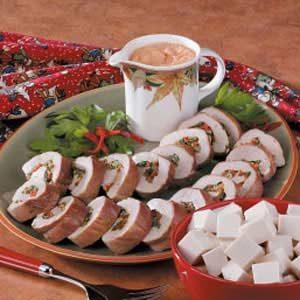 Pork Tenderloin with Red Pepper Sauce Recipe