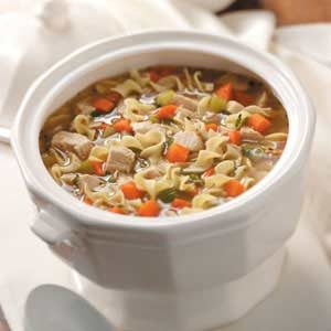 Old-Fashioned Turkey Noodle Soup Recipe
