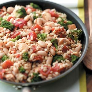 Chicken Orzo Skillet Recipe