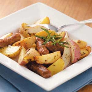 Rosemary Potatoes with Sausage Recipe