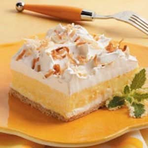 Creamy Coconut Dessert Recipe