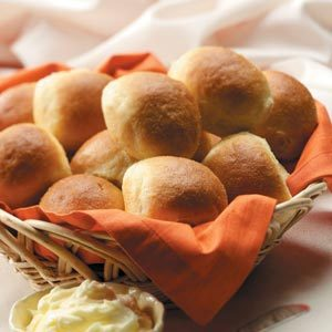 Cornmeal Pan Rolls Recipe