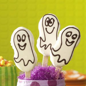 Quick Ghost Cookies Recipe