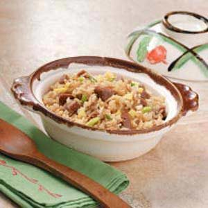 Speedy Pork Fried Rice Recipe
