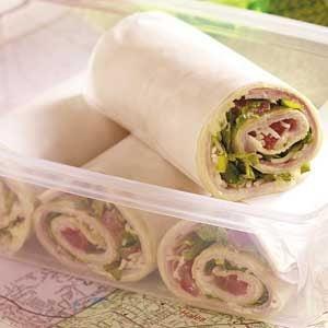 Savory Ham Wraps Recipe Taste Of Home