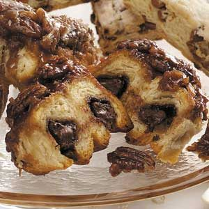 Chocolate-Pecan Sticky Buns Recipe