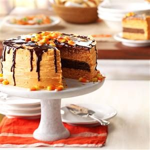 Halloween Layer Cake Recipe