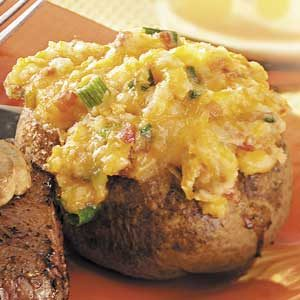 Twice-Baked Deviled Potatoes Recipe