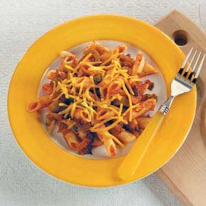 Ziti Supper for Two Recipe