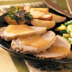 Apple-Dijon Pork Roast