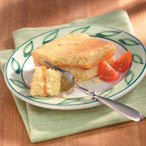 Ham 'n' Cheddar Corn Bread Recipe