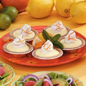Citrus Tartlets Recipe