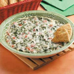 Spinach Tomato Spread Recipe