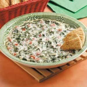 Spinach Tomato Spread Recipe
