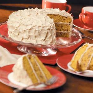 Maple Pumpkin Torte Recipe