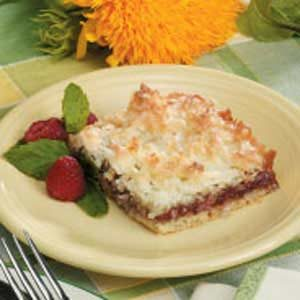 Raspberry Jam Bars Recipe