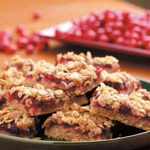 Cranberry Bog Bars Recipe