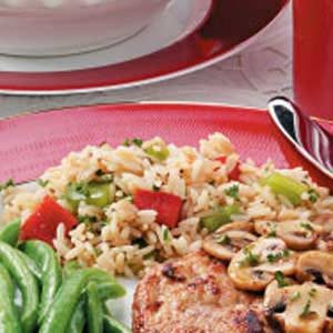 Sweet Pepper Rice Recipe