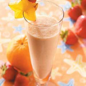 Fruit and Milk Smoothie Recipe