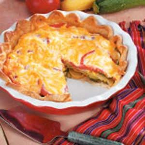 Summer Squash Pie Recipe