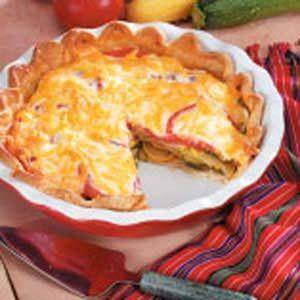 Summer Squash Pie Recipe