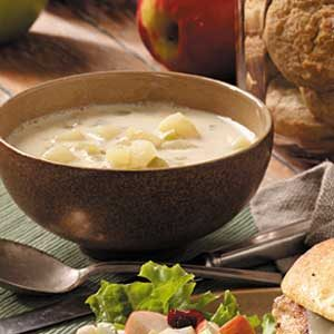 Quick Cream of Potato Soup Recipe