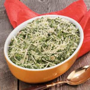 Creamy Spinach with Bacon Recipe