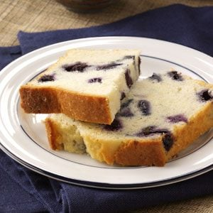 Lemon-Blueberry Tea Bread