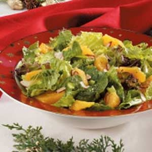 Tangerine Tossed Salad Recipe